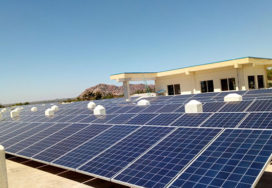 203 kWp Grid Connected Solar PV Power Project, Dodla Dairy, KOPPAL