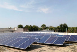 100 kWp Grid Connected Solar PV Power Project, Cattamanchi Ramalinga Reddy Residential School, Kurnool