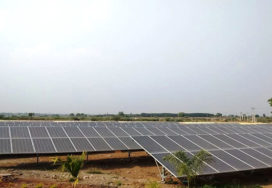 277 kWp Grid Connected Solar Ground Mounted PV Power Project, Dodla Dairy Sattenapally