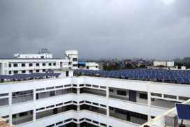 377 kWp Grid Connected Solar PV Power Project, MGM Hospital, Kamothe