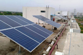 268.8 kWp Grid Connected Solar PV Power Project, Vatika Group Gurugram